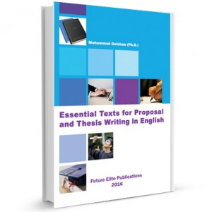 Essential Texts for Proposal and Thesis Writing in English