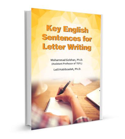 جملات کلیدی زبان انگلیسی برای نامه نوشتن
